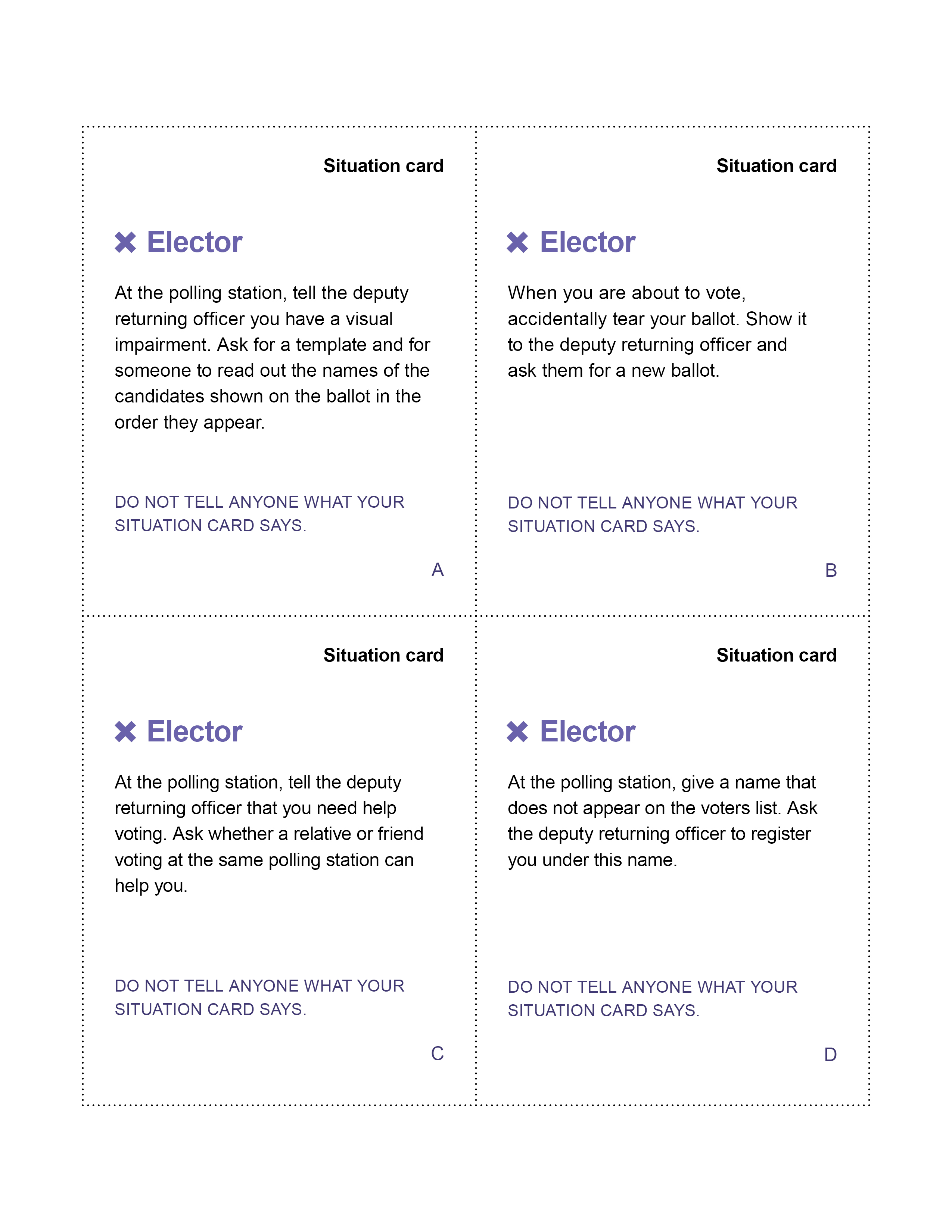 Election Simulation Toolkit Elections Canada S Civic Education